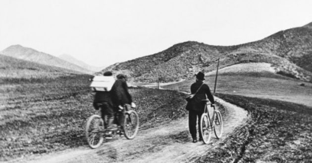 Cycling the Cahuenga Pass