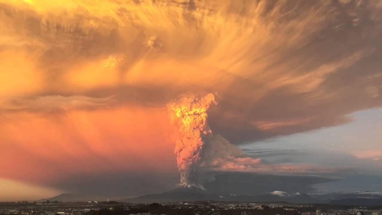 Chile Volcano Eruption in Slo-Mo