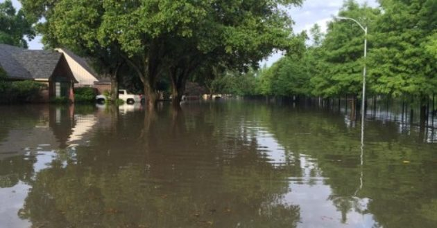 Meyerland flood Houston
