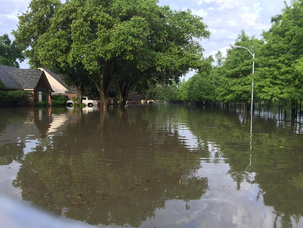 Meyerland flood Houston