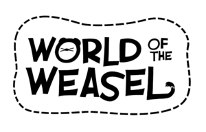 World of the Weasel logo